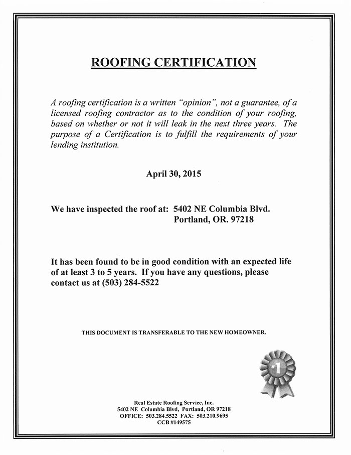 Roof certificate frp light roof sheet for natural lighting for workshop green house etcquotquotscquot1 for Roof certification form template